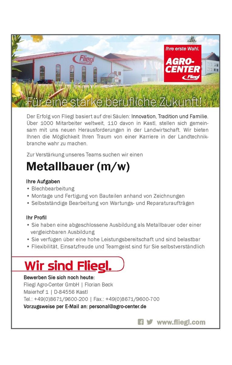 Metallbauer m/w