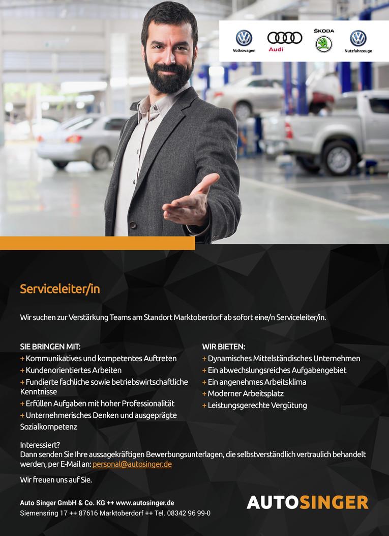Serviceleiter (m/w)