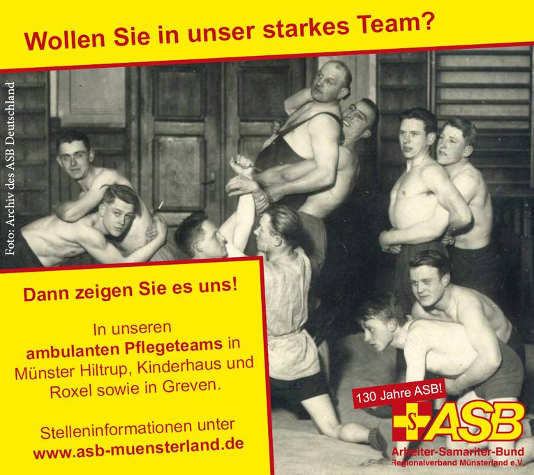 Pflegefachkräfte/Pflegehilfskräfte in Voll-/Teilzeit/geringfügige Beschäftigung in Greven, Borken und