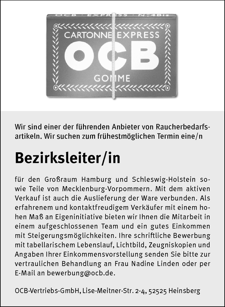 Bezirksleiter/in