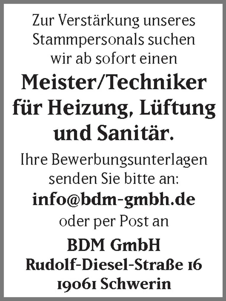 Meister/Techniker