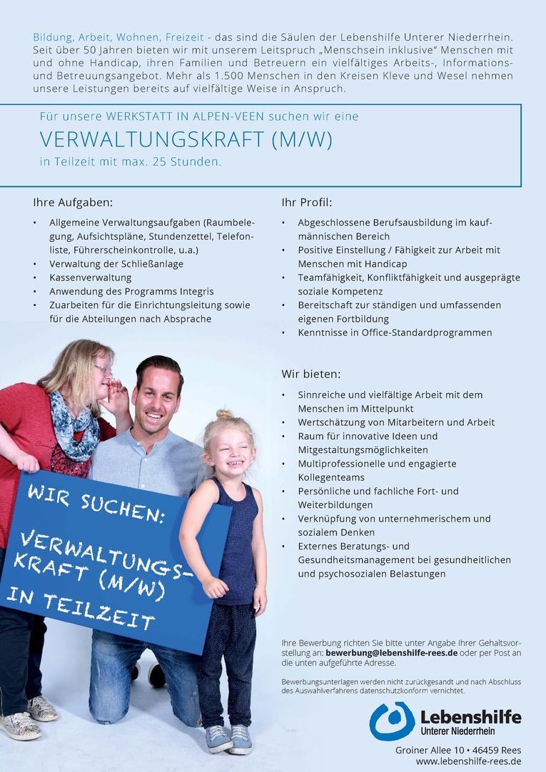 Verwaltungskraft (m/w)