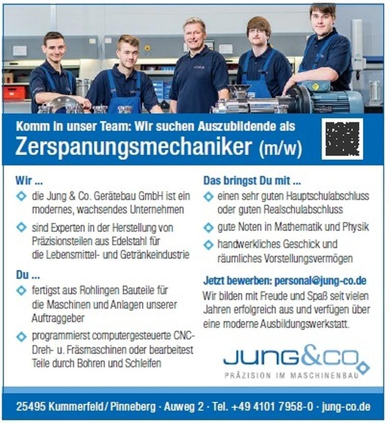 Ausbildung Zerspanungsmechaniker (m/w)