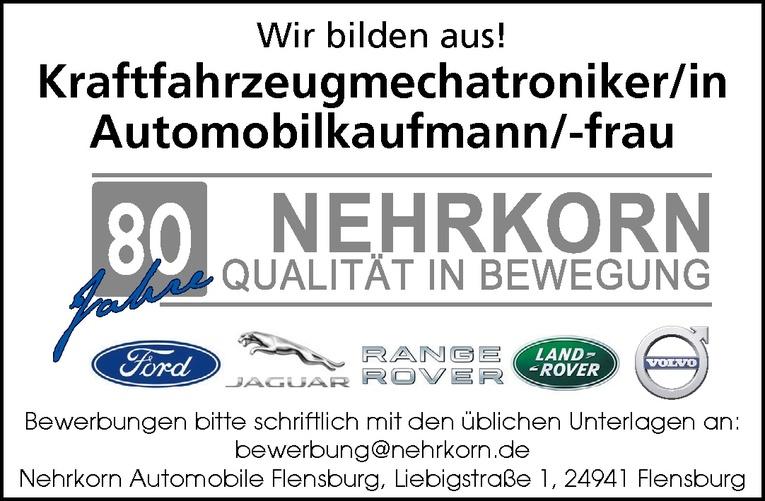 Ausbildung: Automobilkaufmann/-frau