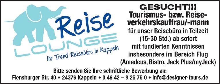 Tourismus- bzw. Reiseverkehrskauffrau/-mann