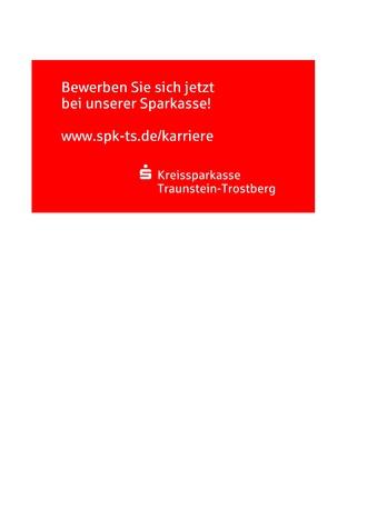 kreissparkasse traunstein trostberg - Bankkaufmann Bewerbung