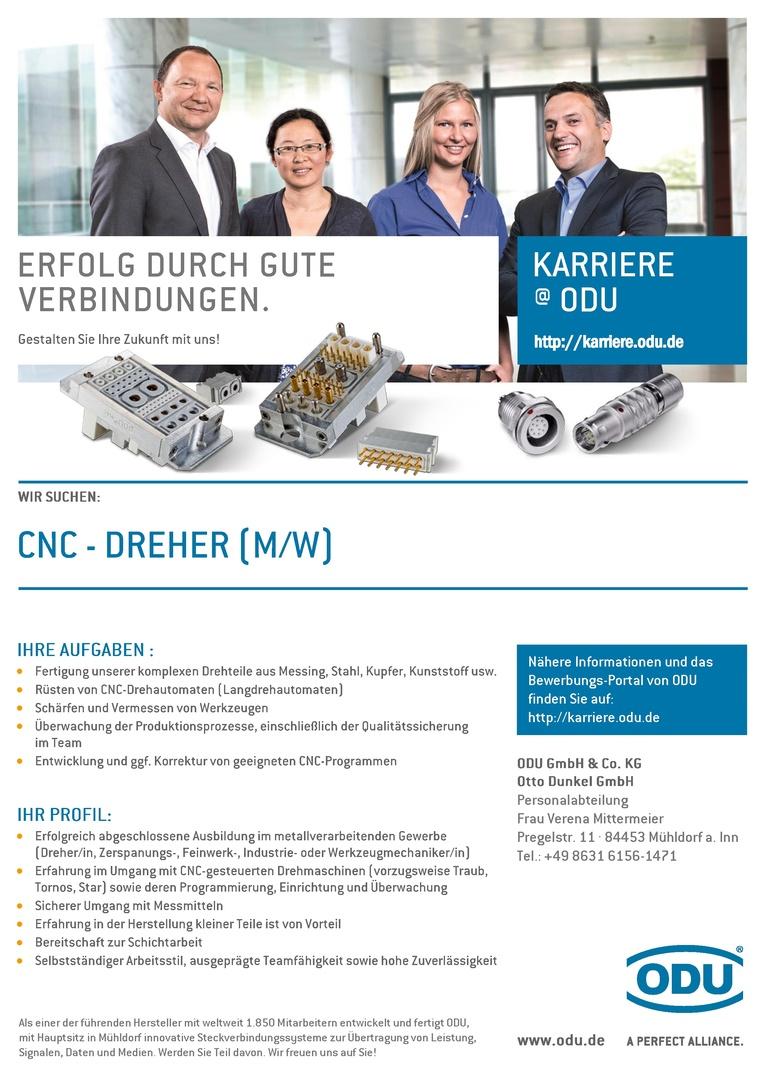 CNC-Dreher (m/w)