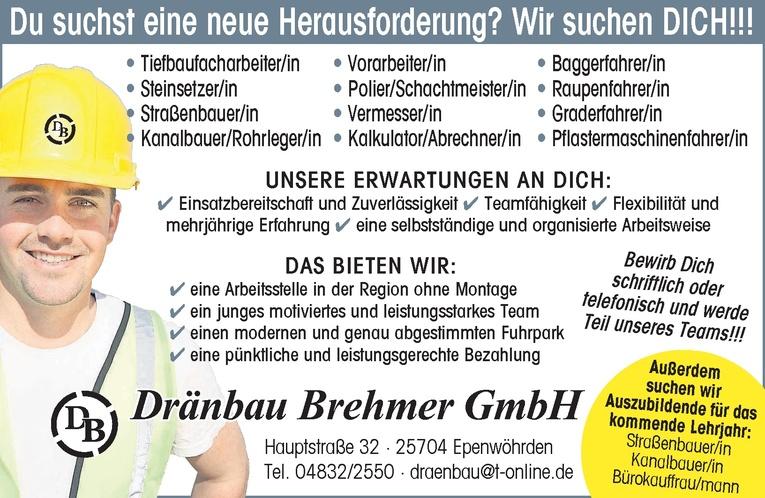 Kanalbauer/Rohrleger/in
