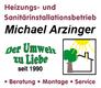 Heizungs- und Sanitärinstallationsbetrieb Michael Arzinger