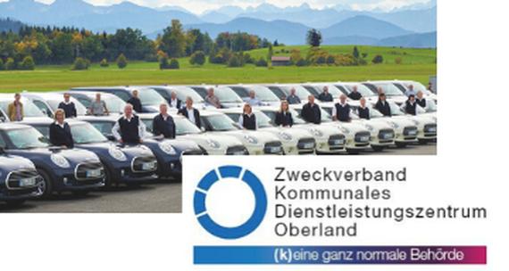 Zweckverband Kommunales Dienstleistungszentrum Oberland Jobs