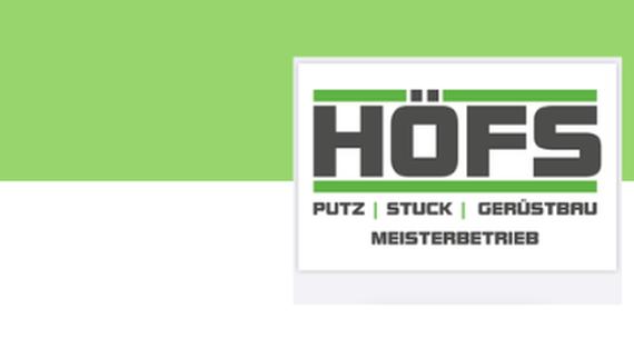 Höfs Putz-Stuck-Gerüst Meisterbetrieb Jobs