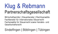 Klug & Rebmann Partnerschaftsgesellschaft   Wirtschaftsprüfer | Steuerberater | Rechtsanwälte