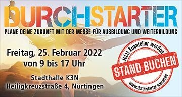 DURCHSTARTER-MESSE.DE Jobs
