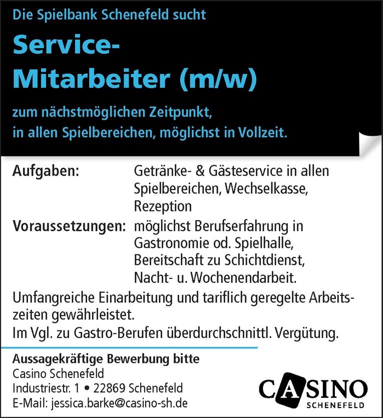 Service-Mitarbeiter (m/w)