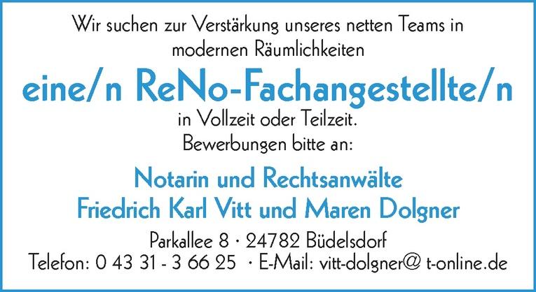 ReNo-Fachangestellte/n