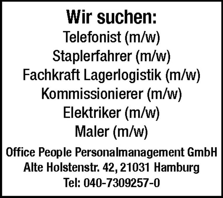 Kommissionierer (m/w)
