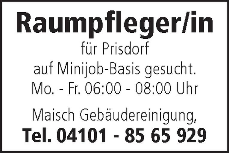 Raumpfleger/in