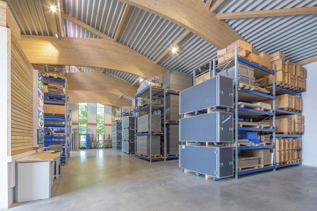 Unser Messebau-Systemlager