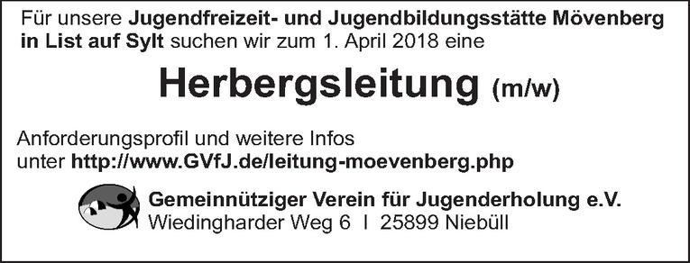 Herbergsleitung (m/w)