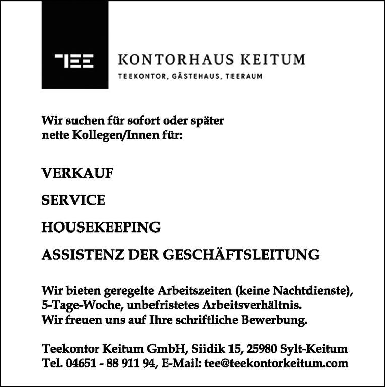 Kollegen/Innen für: Assistenz der Geschäftsleitung