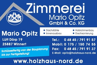 Zimmerei Mario Opitz GmbH&Co.KG