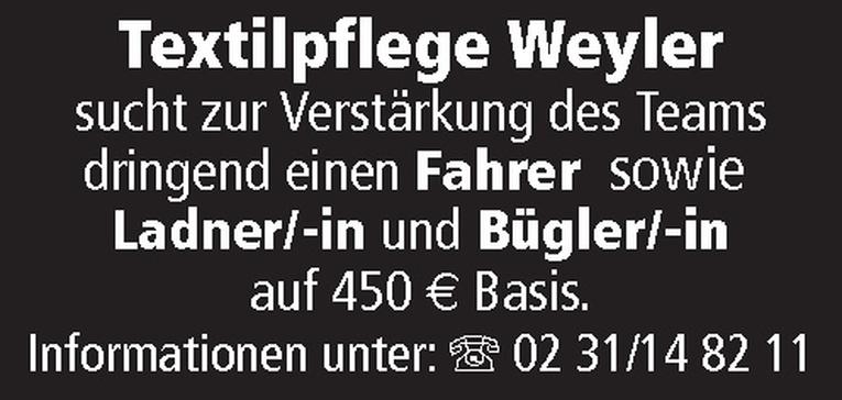 Ladner/-in und Bügler/-in