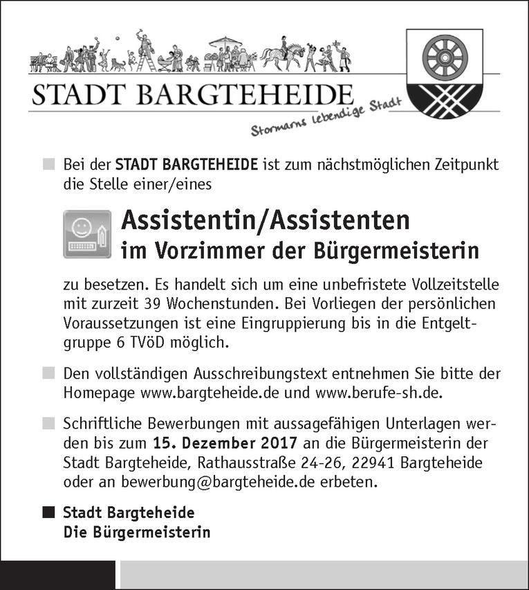 Assistentin/Assistenten