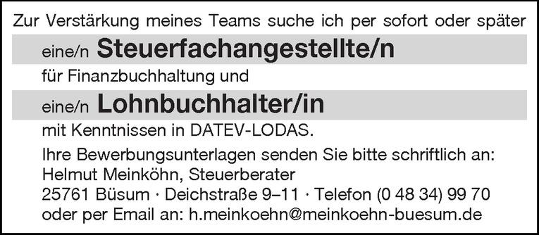 Lohnbuchhalter/in