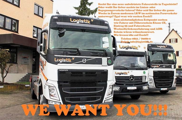 We want you!!! Fahrer gesucht m/w