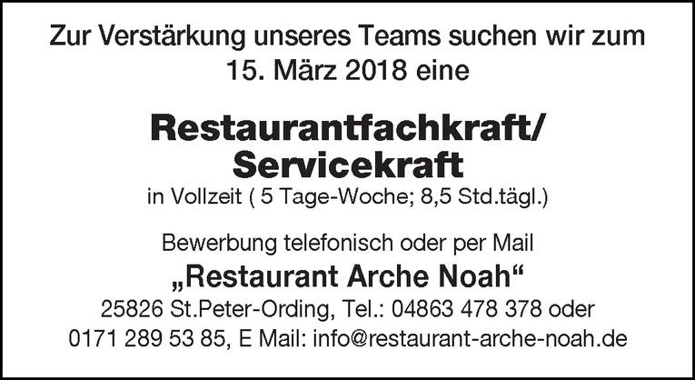 Restaurantfachkraft / Servicekraft