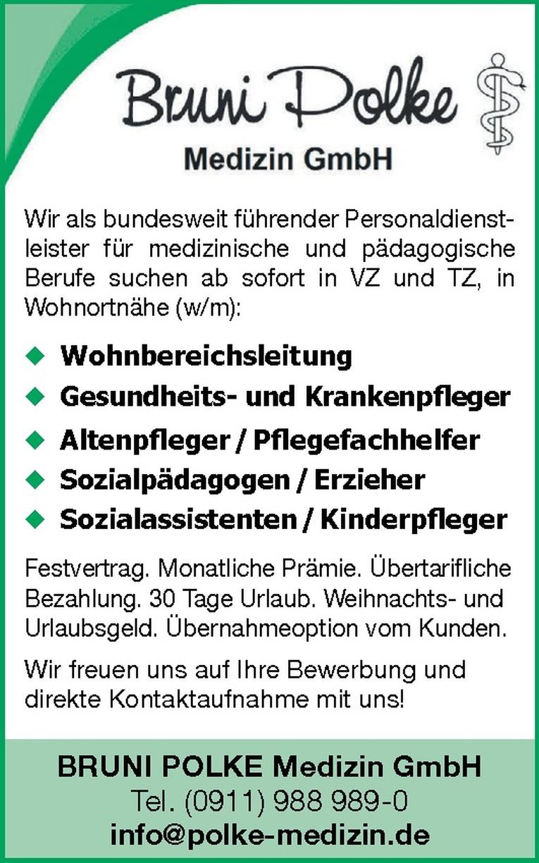 Sozialassistenten / Kinderpfleger (w/m)