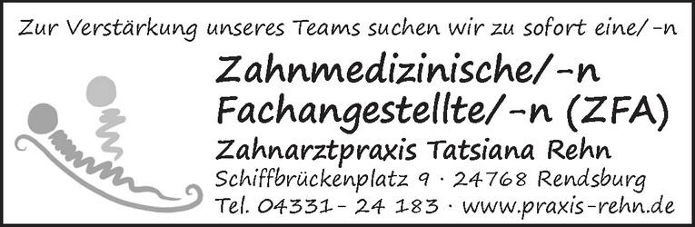Zahnmedizinische/-n Fachangestellte/-n (ZFA)