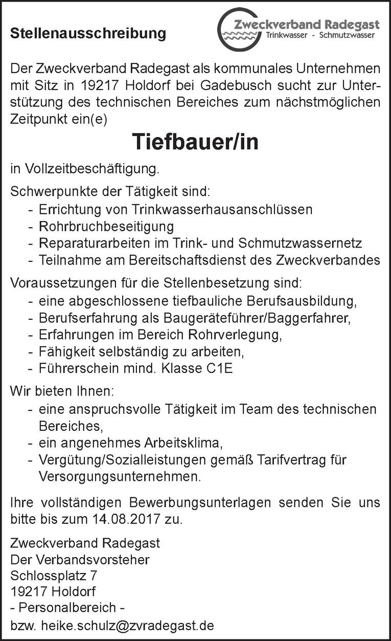 Tiefbauer/in