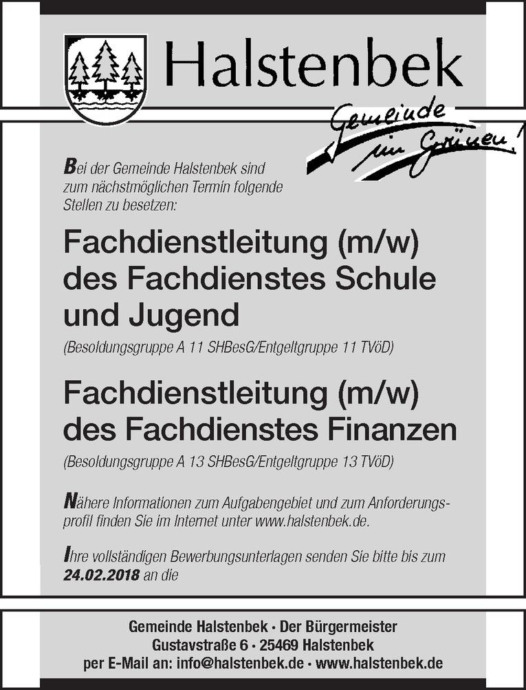 Fachdienstleitung (m/w) des Fachdienstes Schule und Jugend