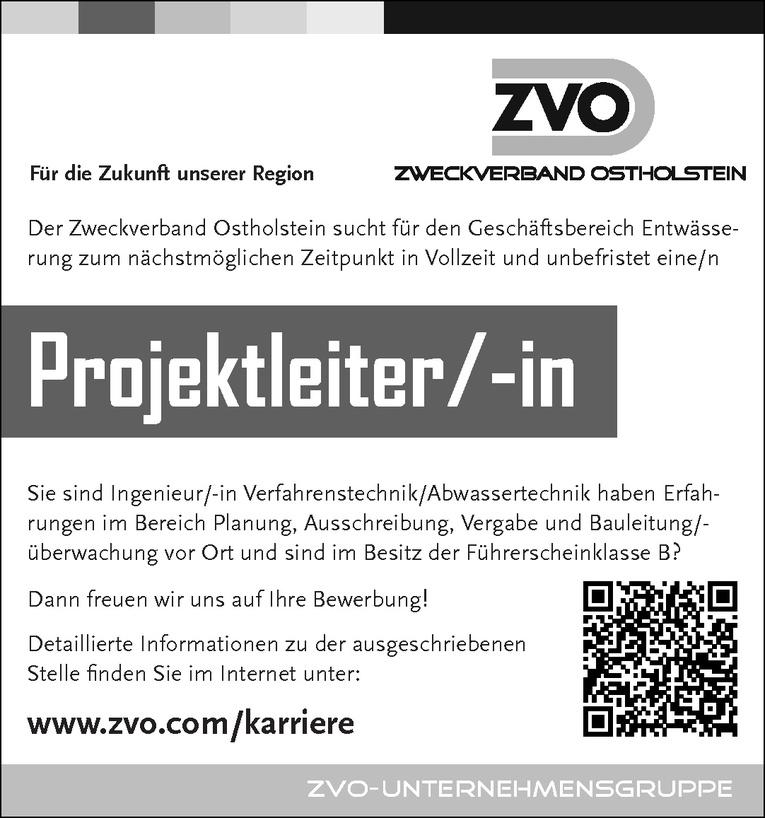 Projektleiter/-in