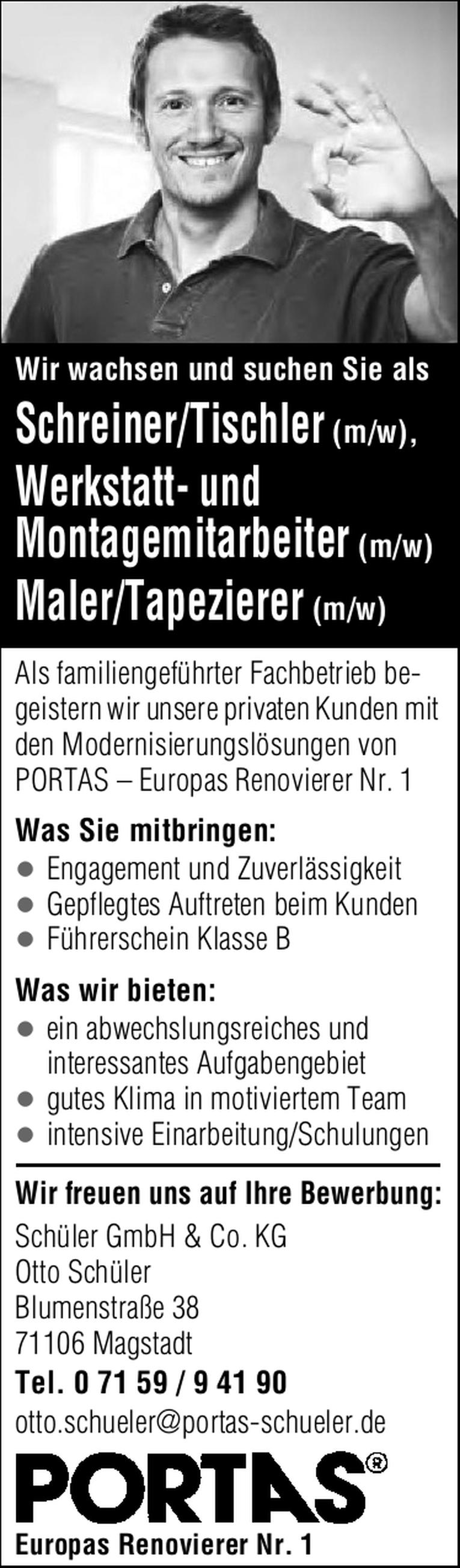Maler/Tapezierer (m/w)