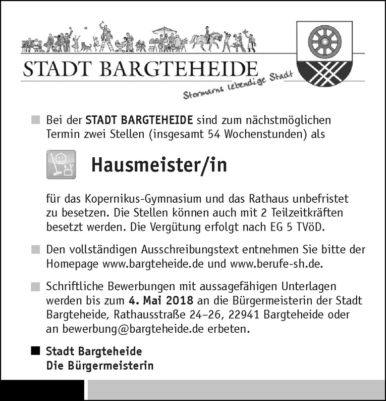 Hausmeister/in