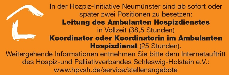 Leitung des Ambulanten Hospizdienstes