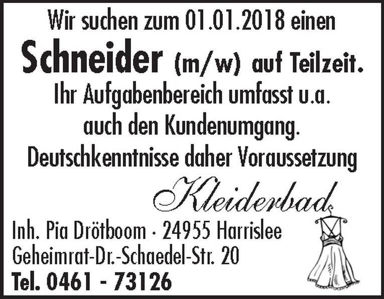 Schneider (m/w)