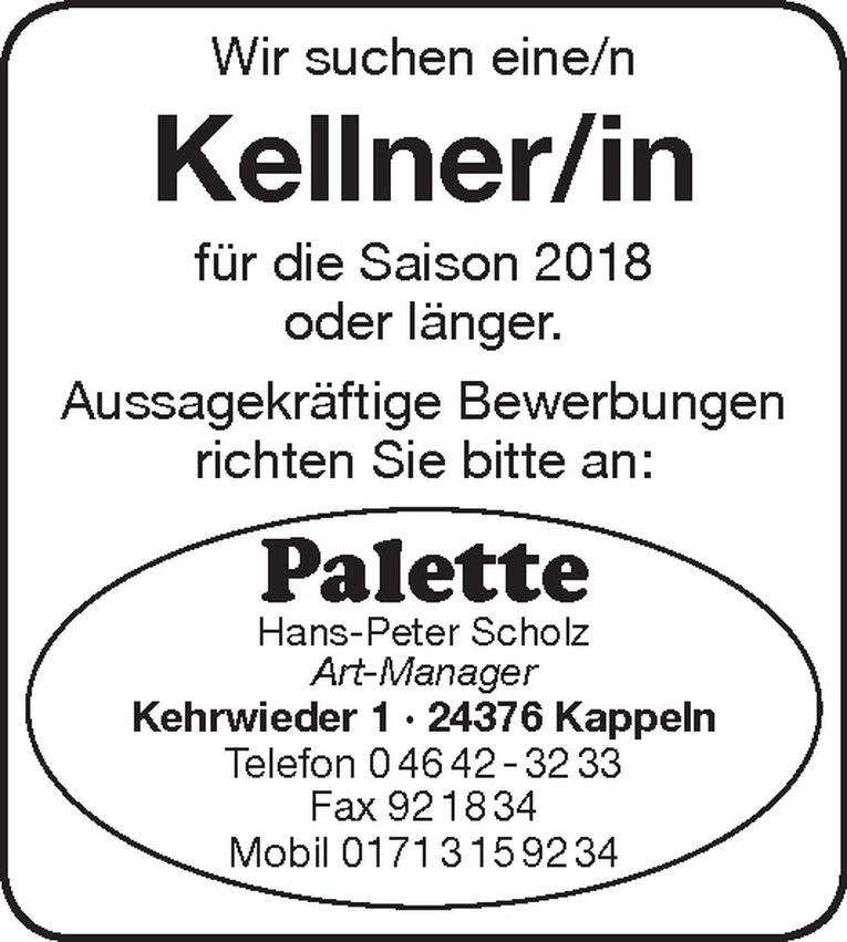 Kellner/in