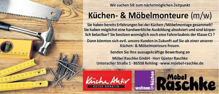 Küchen-und Möbelmonteure (m/w)