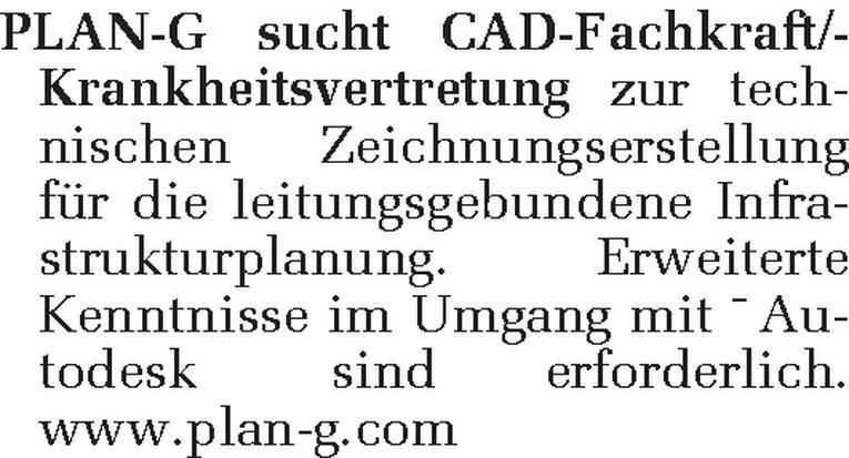 CAD-Fachkraft