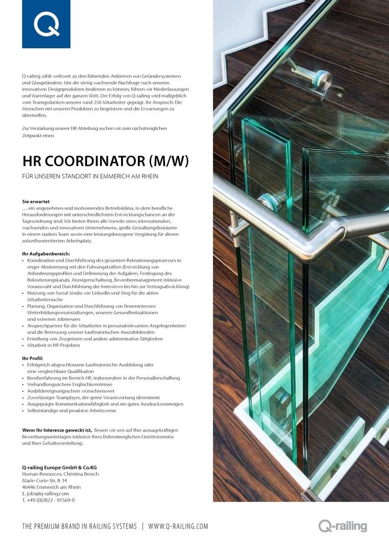 HR Coordinator (m/w)