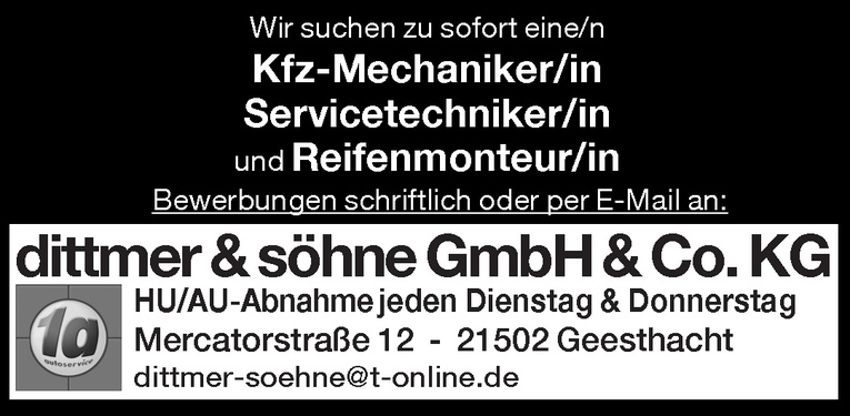Kfz-Mechaniker/in