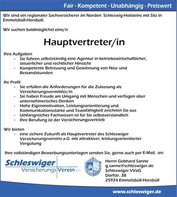 Versicherungskaufmann/-frau im Außendienst (HGB §84)