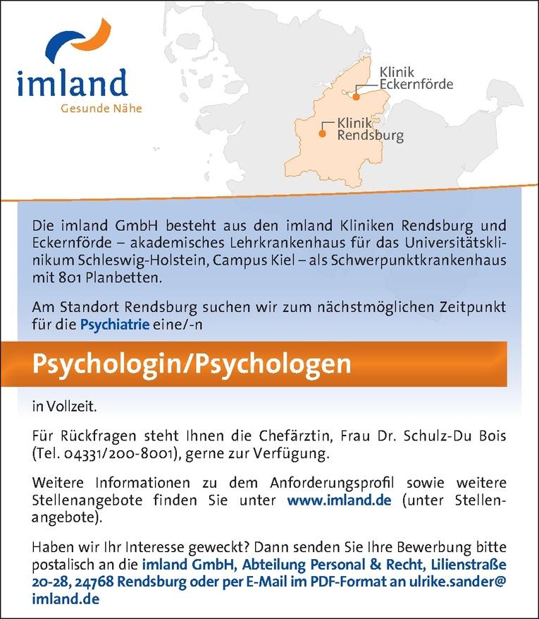 Psychologin/Psychologen