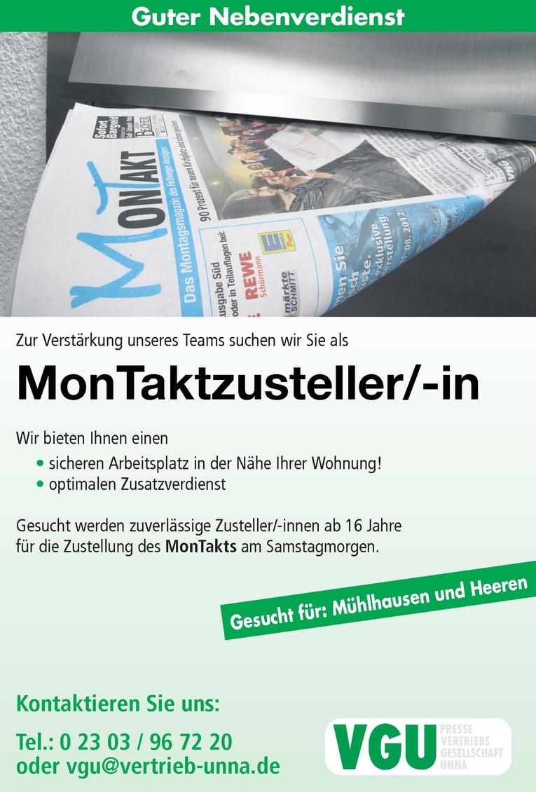 MonTaktzusteller/-in