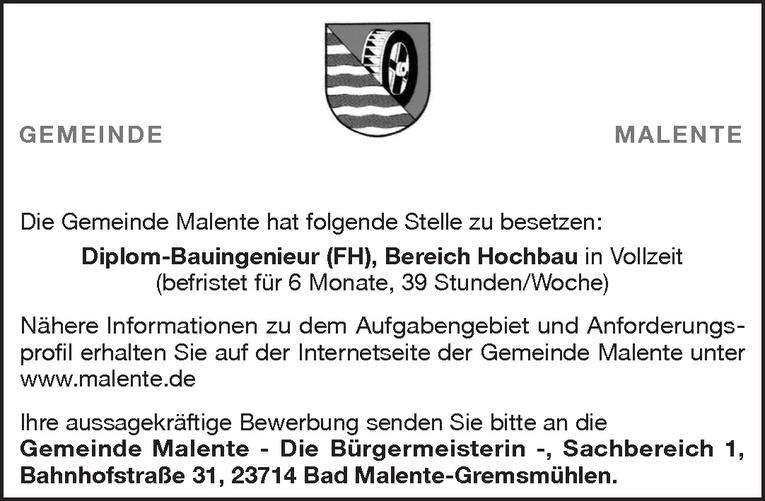 Diplom-Bauingenieur (FH) Bereich Hochbau