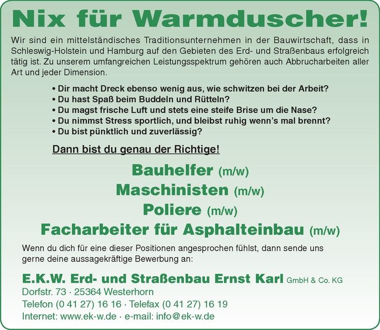 Bauhelfer (m/w)