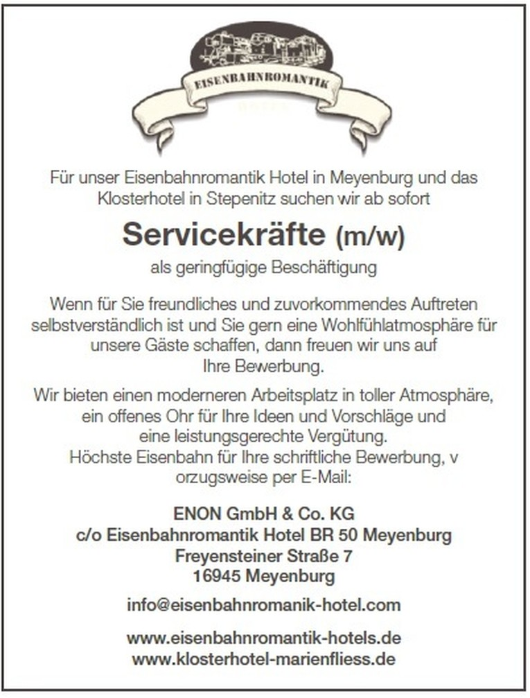 Servicekräfte (m/w)